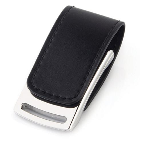 8745-16GB Deri USB Bellek
