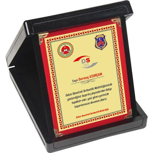 KP01-S-12×16 Albüm Plaket