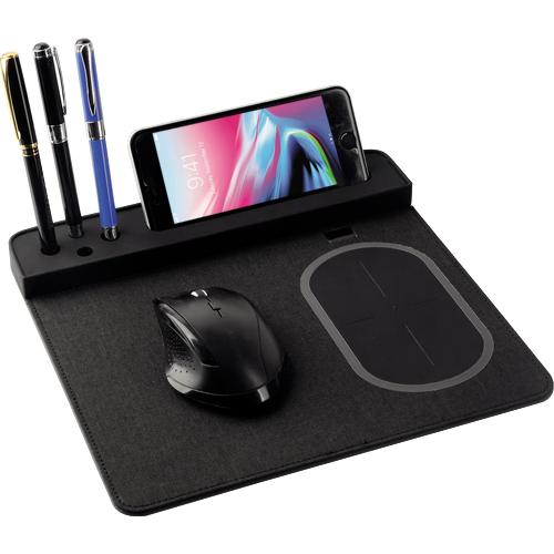 PWB-210 Wireless Şarjlı Mouse Pad