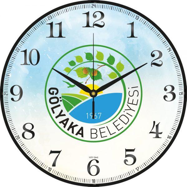 V30-529-B Cam Duvar Saatleri