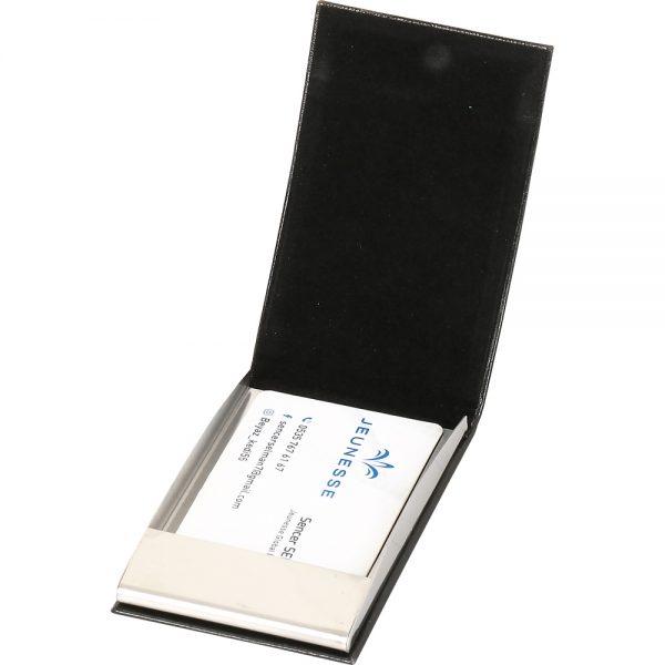 KVZ-006-B Deri Dikey Kartvizitlik
