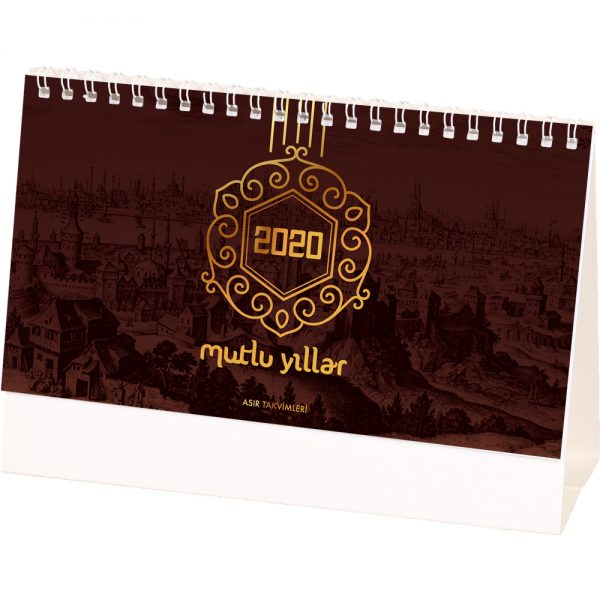 AMT-02-BR Osmanlı Masa Takvimi